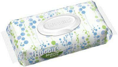 Huggies Natural Care Baby Wipes, Soft Pack, Fragrance Free, 56 Ea