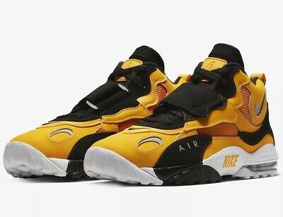 3f6d0a2377 Nike Air Max Speed Turf Men's Size 8 Steelers University Gold Black  BV1165-700