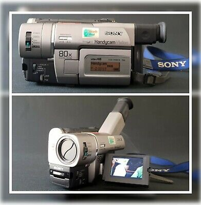Sony Handycam CCD-TRV67E Hi8 /Video 8 8mm Tape PAL Camcorder