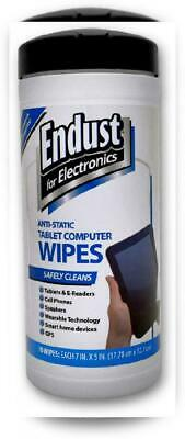 Endust for Electronics, Touchscreen Cleaning Wipes, Great Tablet Wipes, 70 Count