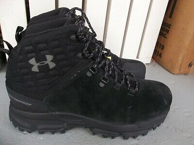 Nwt Men's Under Armour Ua Brower Mid Wp Hiking Boots Size 9.Brand New For 2019.