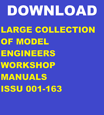 Large Download Model Engineers Workshop Magazine Collection