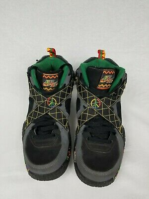 newest ef568 7d3e6 Nike Air Raid Urban Jungle Men s Shoes Black Gray Pine Peace 642330-003 ...