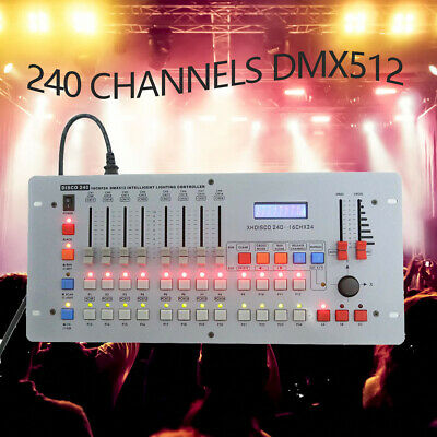 240 Channels DMX-512 Controller Console For Stage Light Laser DJ Disco Bar Party