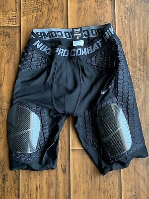 98852c4183ebe Nike Mens Pro Combat Hyperstrong Hard Plate Football Compression Pants Size  XL