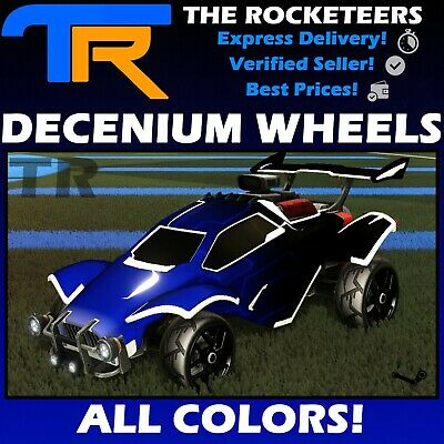 [PC STEAM] Rocket League Every Painted DECENIUM Limited Wheels RLCS Reward