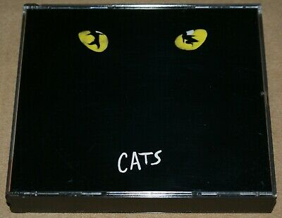 Cats The Company CD Album Andrew Lloyd Webber Musical 2 Discs VGC