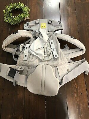 LILLEbaby Seatme Hip Seat Baby Carrier - Grey Cotton *Wear