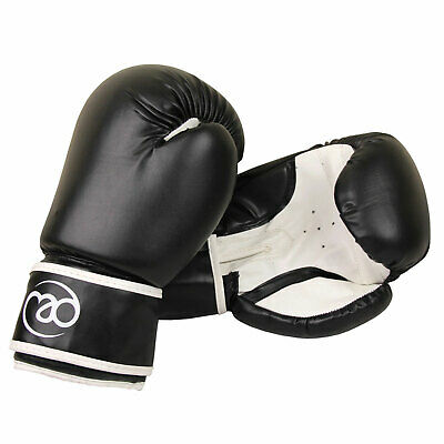 Fitness MAD Junior Synthetic Leather Boxing Sparring Gloves - 6oz