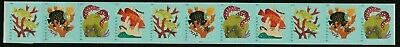 Us Oceans 5367-5370 Coral Reefs Postcard Rate Vf Forever Stamp Pn11 #11111 Strip