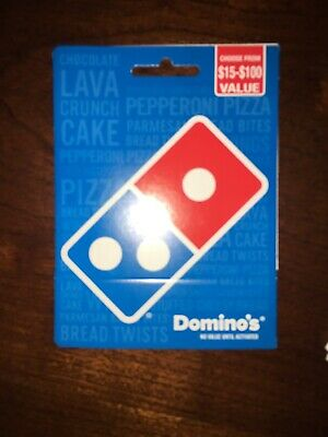 $20 Domino's Physical Gift Card - Standard 1st Class Mail Delivery