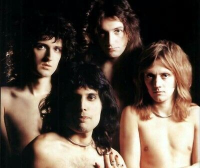 Queen Freddie Mercury Sexy naked band Vintage Concert 8x11 Glossy photo Print RP