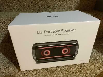 LG PK7 XBOOM Go Water-Resistant Wireless Bluetooth Speaker Rechargeable Battery