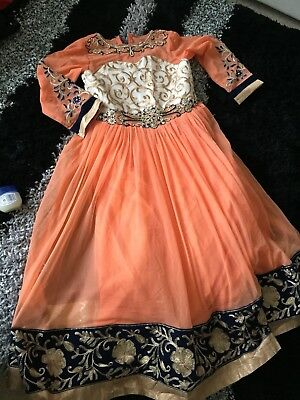 Beautiful Designer Indian Suit For Girls Size 28