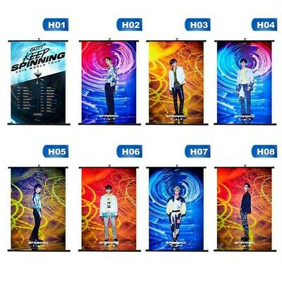 GOT7 SPINNING TOP : BETWEEN SECURITY&INSECURITY Photo Poster Hanging Painting