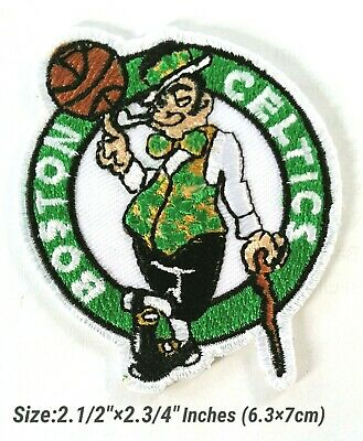 Boston CELTICS NBA Basketball sport Embroidery Patch iron, sewing on Clothes
