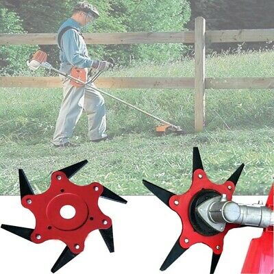 Steel Blades Razors 65Mn Lawn Mower Grass Eater Trimmer Head Brush Cutter Tool