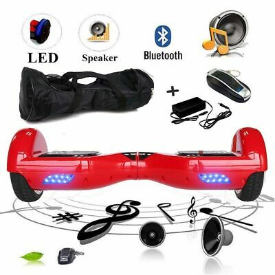 6.5'' HOVERBOARD SMART MONOPATTINO ELETTRICO SCOOTER LED+BORSA E-BALANCE Speaker