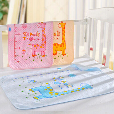 Reusable Baby Infant Waterproof Urine Mat Cover Washable Changing Diaper Pad HO