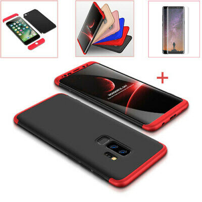 Samsung Galaxy A50 J7 S10 360° Cover Case Etui Coque Housse + Protection d'écran
