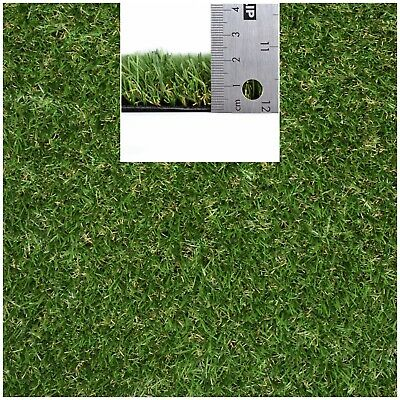 HIGH QUALITY 20mm EXTRA SOFT Artificial Fake Grass 4m Wide Remnant/Roll End