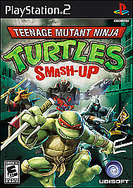 Teenage Mutant Ninja Turtles: Smash-Up (Nintendo Wii, 2009) Good Condition