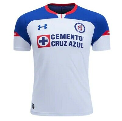 bac2df75548 2018 CRUZ AZUL team signed UNDER ARMOUR soccer jersey w  REAL PROOF ...