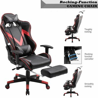 Silla Oficina Gaming Juegos Sillon Despacho Escritorio Reclinable Giratoria 360°