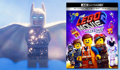 The Lego Movie 2: The Second Part (4K Ultra HD + Blu Ray + Digital) Code w/ Slip