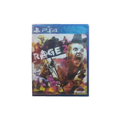 Rage 2 PlayStation PS4 2019 Chinese English Factory Sealed