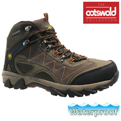 Mens Cotswold Waterproof Hiking Walking Winter Work Ankle Boots Shoes Trainers