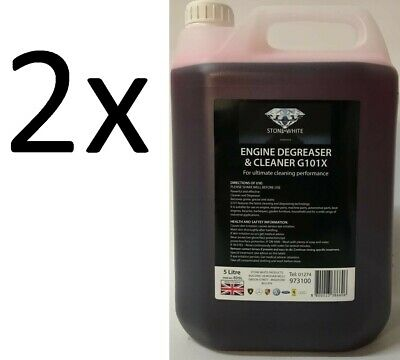 2x Concentrate Engine Degreaser / Parts Washer Fluid - 5 Litres. Dilute up to 20