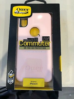 "OtterBox Commuter Series Case for Apple iPhone X/XS 5.8"" - Pink"