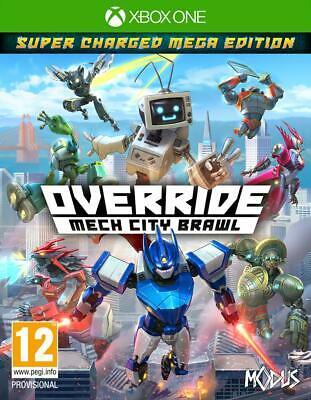 Override Mech City Brawl Super Charged Mega Edition Xbox One New in Blister
