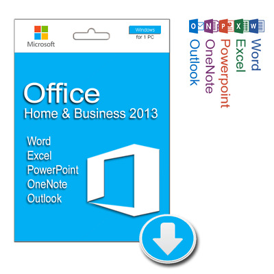 Microsoft Office Home and Business 2013 for Windows | Downloadable Product