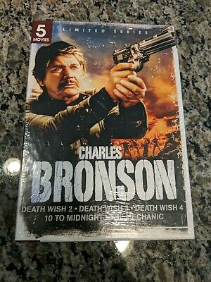 Charles Bronson: 5 Movies (DVD, 2011, 2-Disc Set)