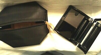 Mary Kay Compact Magnetic W/ Lipstick Compartment and Make-Up Bag- 017362