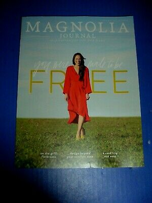 Magnolia Journal Issue no.11 Freedom Summer Edition 2019 New Never Read