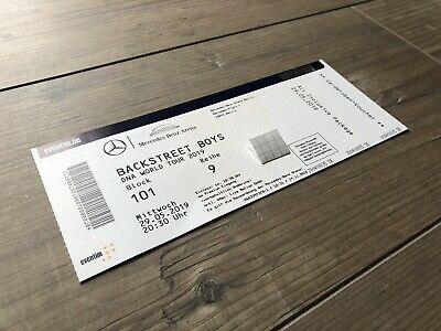 Backstreet Boys Ticket Premium Berlin