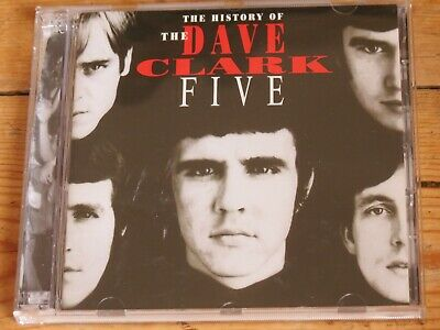 2 CD History of the DAVE CLARK FIVE (50 greatest hits/very best of)