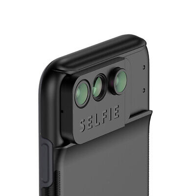 Phone Camera Lens Wide Angle Macro Fisheye Phone Case With 3 in 1  for iPhone XR