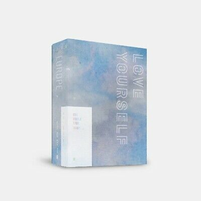 BTS WORLD TOUR 'LOVE YOURSELF' EUROPE DVD (KpopStoreinUSA)