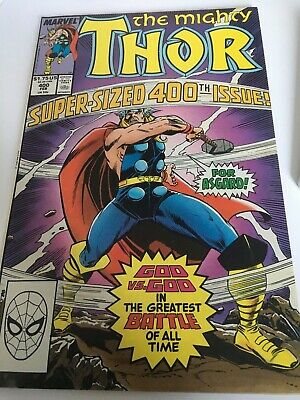 Thor # 400 - super sized edition with a beautiful story drawn by Charles Vess