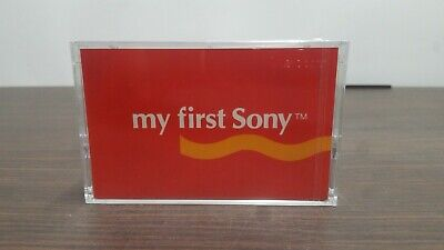 My First Sony NOS Unopened 1 Blank Cassettes in Pack MFS46 Type 1