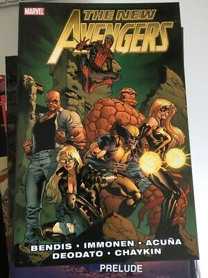 New Avengers TPB # 2 - collects # 7 - # 13 - written by Bendis, art by Immonen