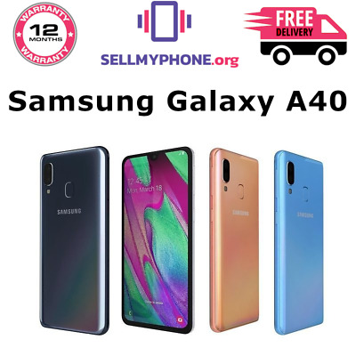 Brand New Samsung Galaxy A40 (2019) 64GB Dual SIM 4G LTE Android Various Colours