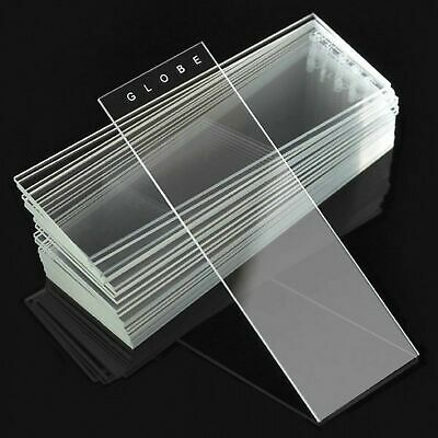 Microscope Slides, Diamond White Glass, 25 x 75mm, 90° Ground Edges, Plain