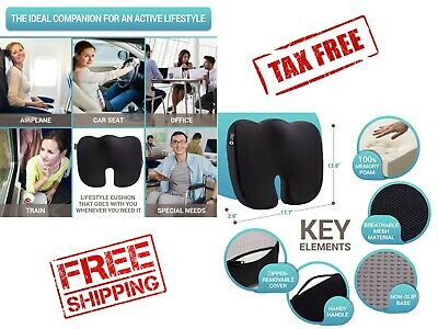 High Quality Breathable Orthopedic Doctor Recommended Office Chair Seat Cushion