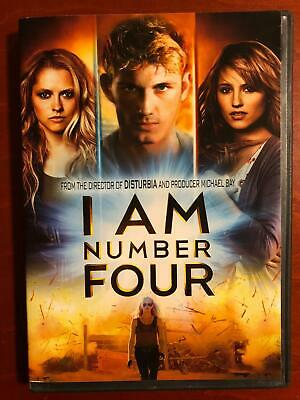 I Am Number Four (DVD, 2011) - F0428