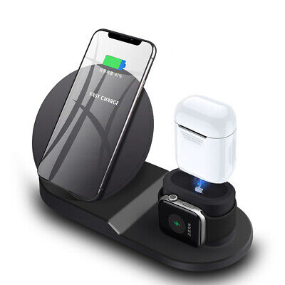 Watch Cellphone Charging Dock For iPhone XS Max X Apple Watch 1234 Airpods